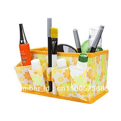 HOT SALE!!Free Shipping Make Up Cosmetic Storage Box Container Bag Case