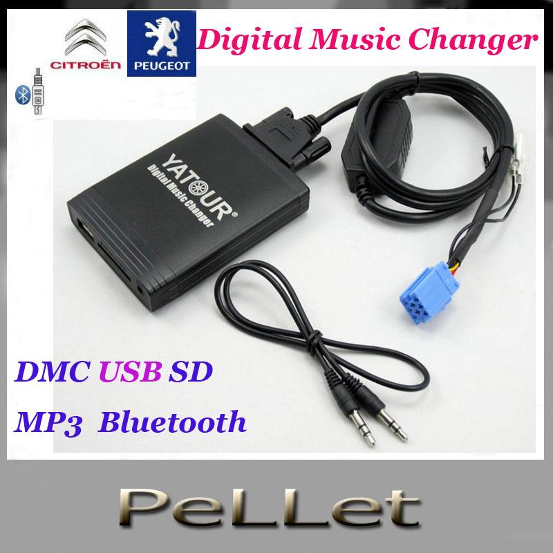 Digital Car Cd Player Music Changer(DMC USB SD MP3