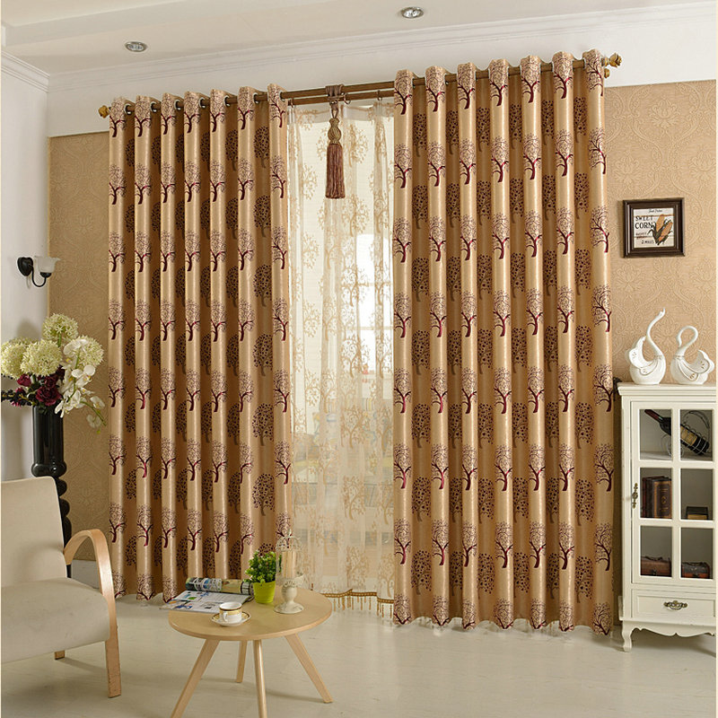 On Sale Luxury Window Curtains For Living Room/Bedding Room/Kitchen ...