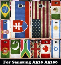 Buy Hard Plastic Soft TPU Silicon Phone Cover Samsung Galaxy A3 2016 SM-A310 A310 A3100 A310F 4.7'' Case Spain Brazil Flag for $1.66 in AliExpress store