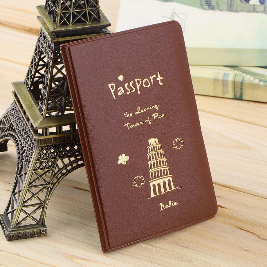 Гаджет  New Cute Travel Passport Holder Utility Simple Passport ID Card Cover Holder Case Protector PVC Protective Sleeve None Камера и Сумки