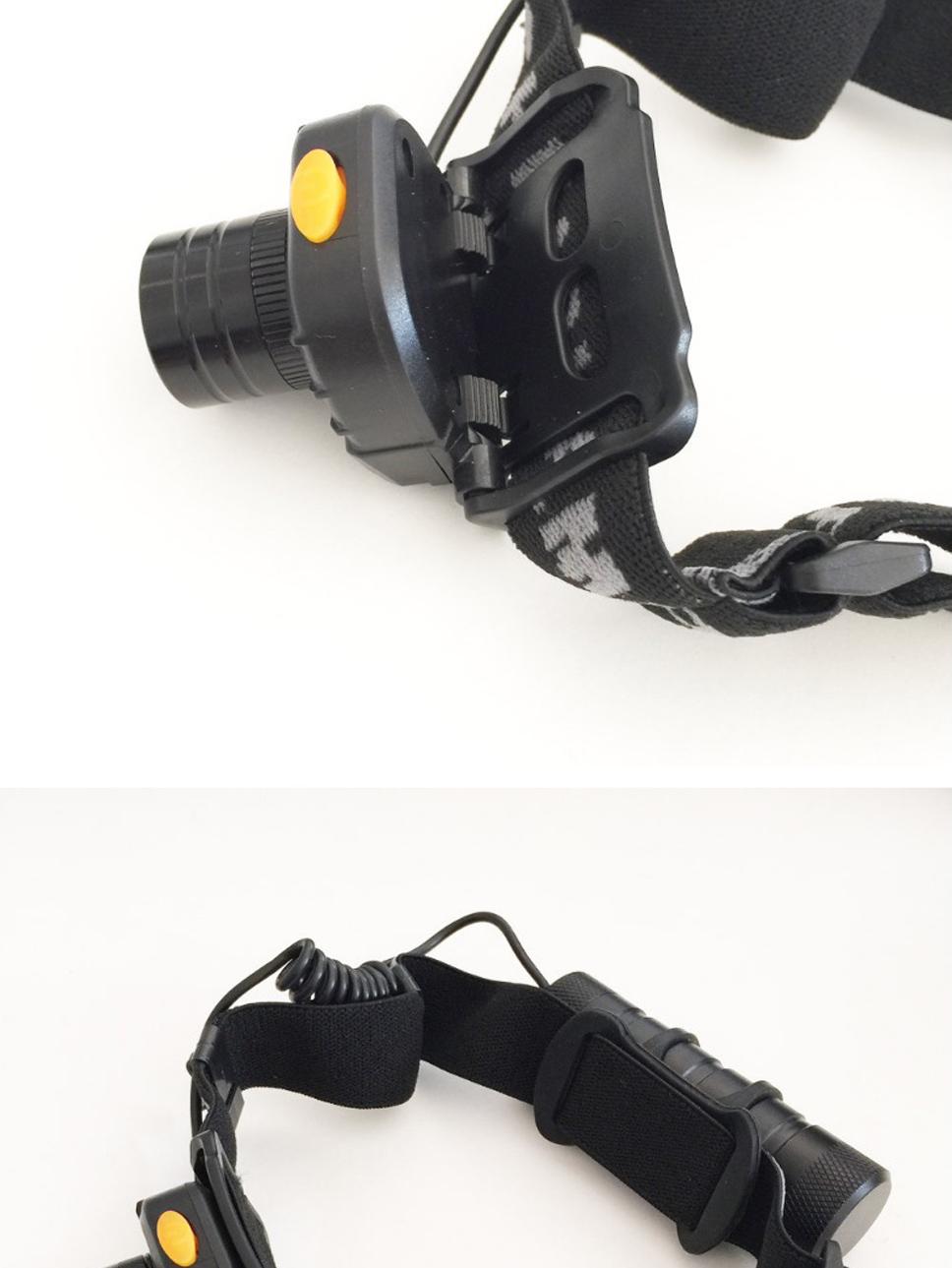 Portable LED Headlamps Infrared Sensor Strong Light ...
