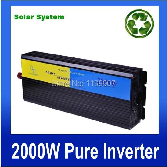 converter 12v 220v 2000w dc ac converter 12v 220v 2kw Pure sine solar panel Invertor  12v 220v 2000w dc convertitore ac<br><br>Aliexpress