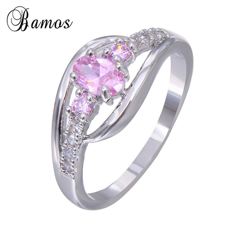 line Get Cheap Pink Birthstone Rings Aliexpress