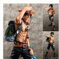 23cm Japanese Anime One Piece Action Figures One Piece Portgas D Ace Garage Kits Ten Year