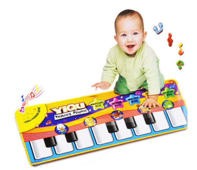 New Children Kids Magic Piano Carpet With Music High
