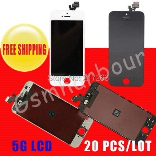 No brank 20 iPhone 5 5 G lcd 5G + & top lcd iphone 5c