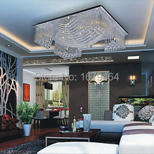 Crystal Beaded Ceiling Light with 13 G4 in Warm White Source(China (Mainland))