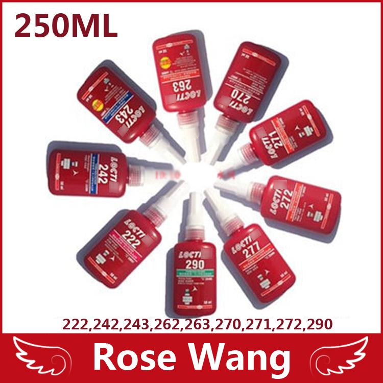 Free shipping 250ML LOCTIT 243 glue screw glue anaerobic adhesive Moderate intensity adhesive Removable(China (Mainland))
