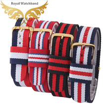 Watch strap 18mm 20mm Man and Women Casual Watchbands Daniel DW Style Nylon Wrist Watch Strap Band Bands