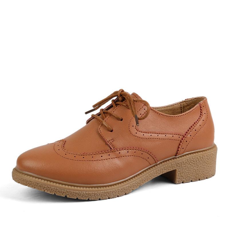 2015 vintage platform oxford shoes style