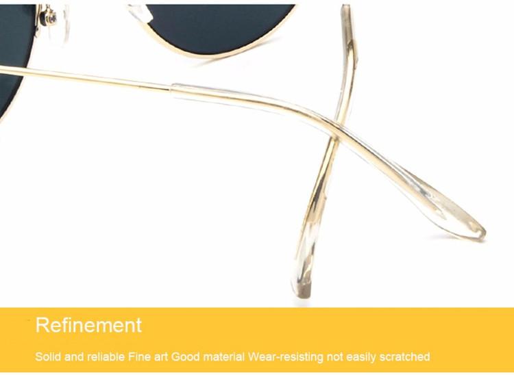 Luxury Vintage Round Sunglasses Women Brand Designer Female Sunglass Points Sun Glasses For Women Lady Sunglass Mirror 2017 Rays (24)