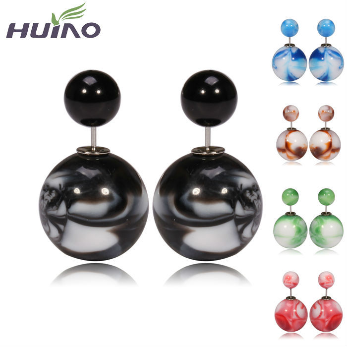 Promotion Men Camouflage Pearl Earring Factory Cam...