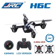 F11325 JJRC H6C 4CH 2.4G 2MP Camera LCD RC Quadcopter Drone Helicopter RTF 200W 3D 6-axle Gyro Surpass H107C Toys(China (Mainland))