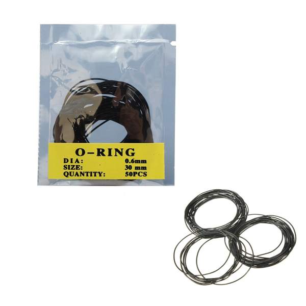 New Arrvial O Ring Watch Case Back Gasket Rubber Seal Washers Size 12-30mm Watchmaker Tool Excellent Quality(China (Mainland))