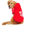 3XL 9XL Large Plus Size Adidog Pet Big Dog Clothes Warm Autumn Winter Sport Hoodie Puppy