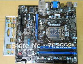 Original Desktop Motherboard H55M-E33 /H55 chips support 1156 pins(China (Mainland))