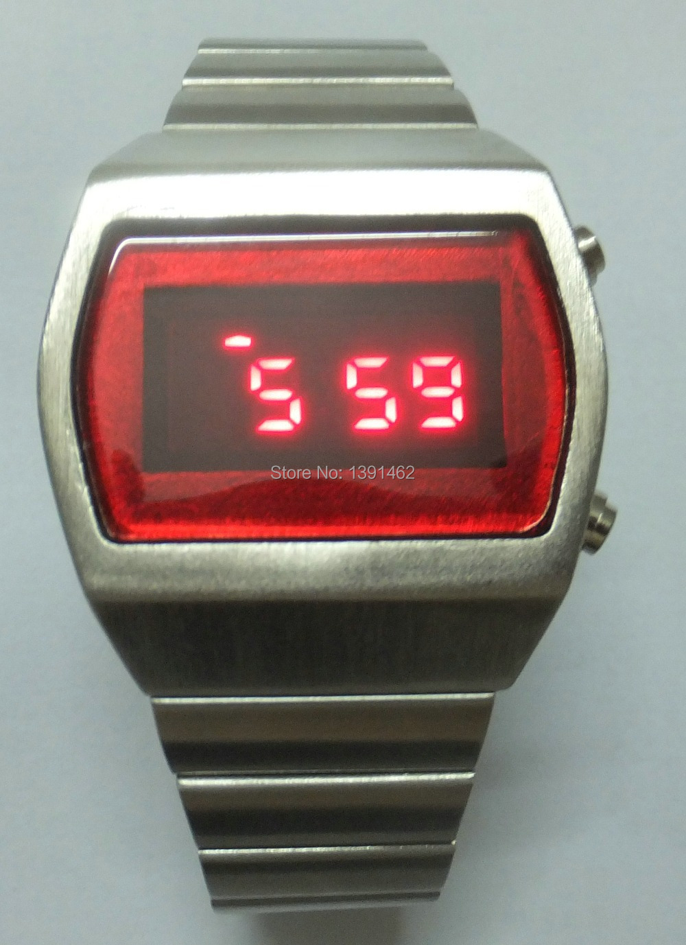 retro led luxury metal 70 s fashion