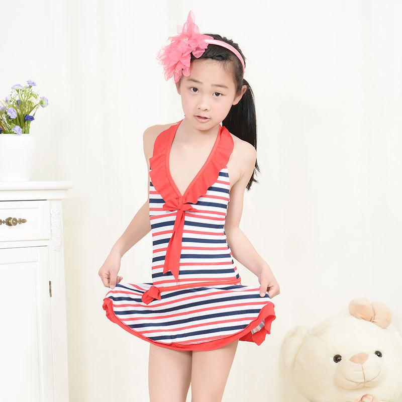 Manufacturers Selling Children's Swimwear Girls Swimsuit Siamese Split Girls Baby Boy Bathing Suit(China (Mainland))