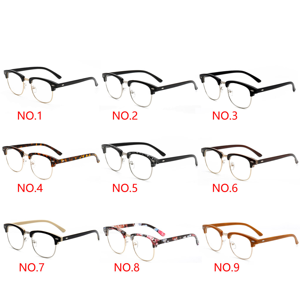 2016 New FashionUnisex Glasses Frame Brand Designer Sunglasses Eyewear Accessories for Mens women