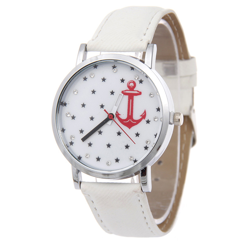 Brand Women Wristwatch Luxury Fashion Casual Watch Men Quartz watch Hook Star partten Fabric band Rhinestone - Her jewelry box ( Min. Order $7 store)