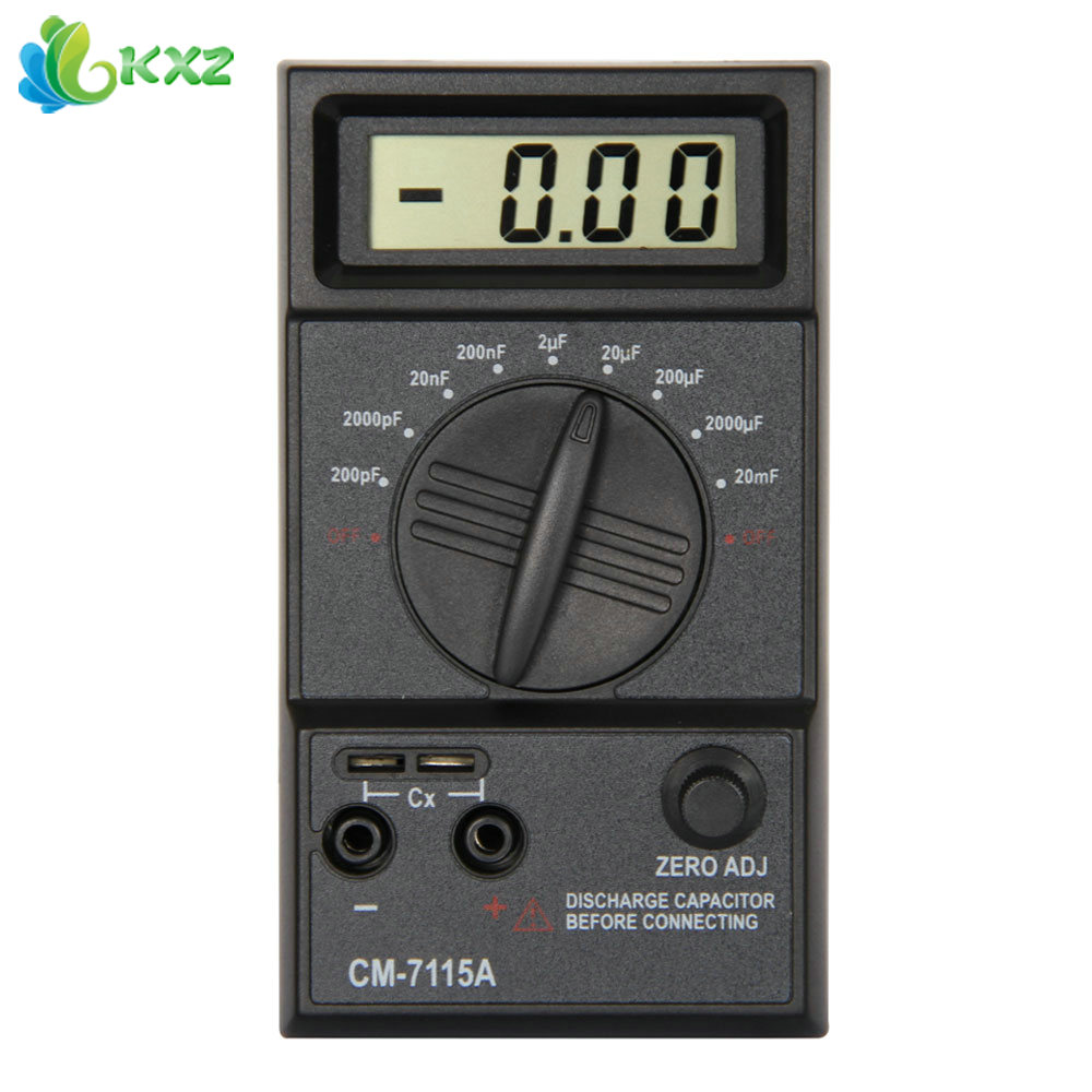 Check Ac Capacitor With Multimeter : Test capacitor with digital multimeter images buy