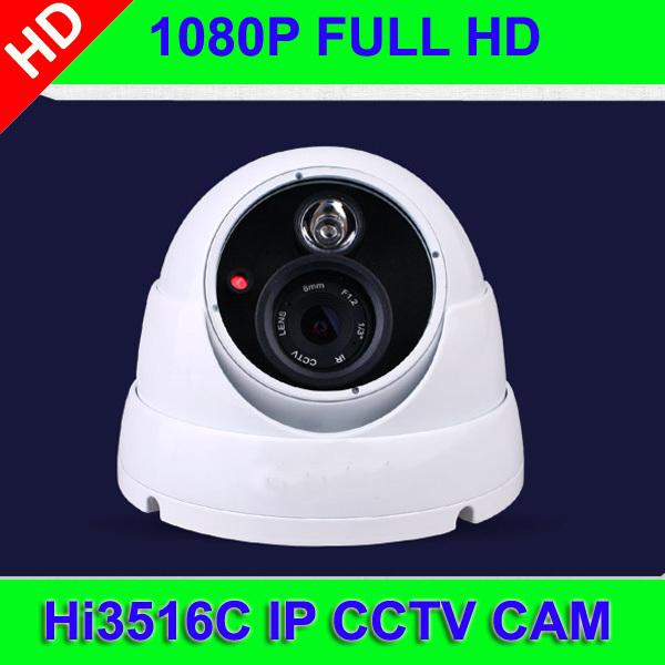 1080P HD IP Metal Dome Camera Web Cam Hi3518C DSP CMOS + 3.0Mega HD lens +IR cut CCTV security Camera onvif<br><br>Aliexpress