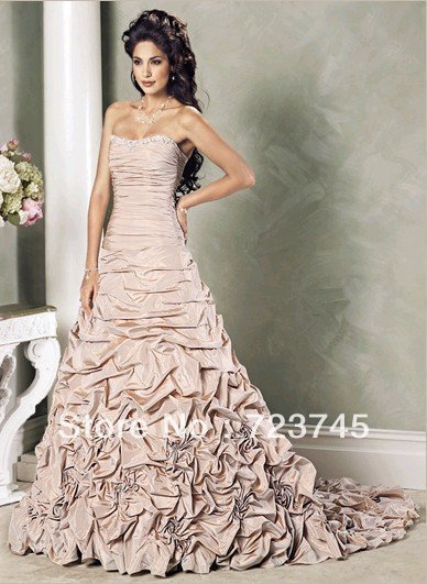 Designer brand wedding dress free shipping 2013 brand for Designer brand wedding dresses