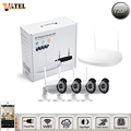 Wireless home surveillance camera system 4 pcs 1 0mp wifi ip camera 4CH NVR Kit ONVIF