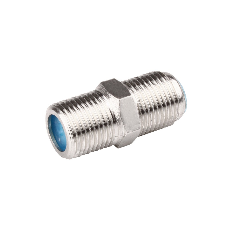 1PC F Type Coupler Adapter Connector Female F/F RG6 Coax Coaxial Cable(China (Mainland))
