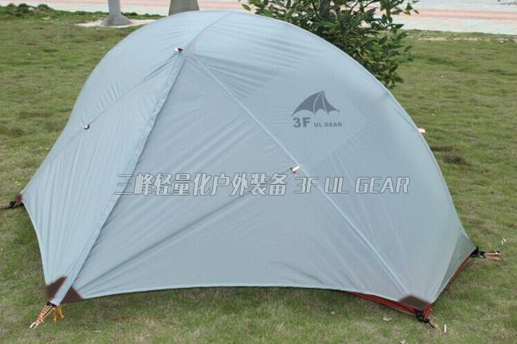 3F 4seasons 20D silicone coated Sanfeng outdoor Piaoyun series single-person tent aluminum Pole anti-rain &amp; wind ultralight tent<br><br>Aliexpress