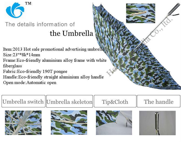 Fiberglass Ribs Pongee Fabric Promotional Low Cheap Umbrella Prices(China (Mainland))