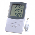 ZEAST Digital LCD Indoor Outdoor Thermometer Hygrometer Temperature Humidity Meter Brand New