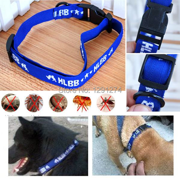 Size S/L Adjustable Puppy Dog Pet Collar 4-Month Anti Flea Ticks Health Products For Large Small Dogs Cats Free Shipping(China (Mainland))