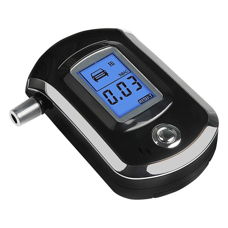 Prefessional Police Breath Alcohol Tester Digital Alcohol Breath Analyzer Detector Breathalyzer Tester<br><br>Aliexpress