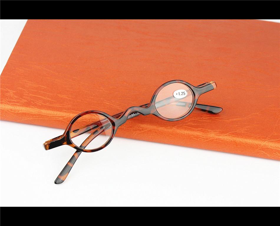 Small Round Read Glasses Retro Eyewear Women and Men Black Reading Glasses(China (Mainland))