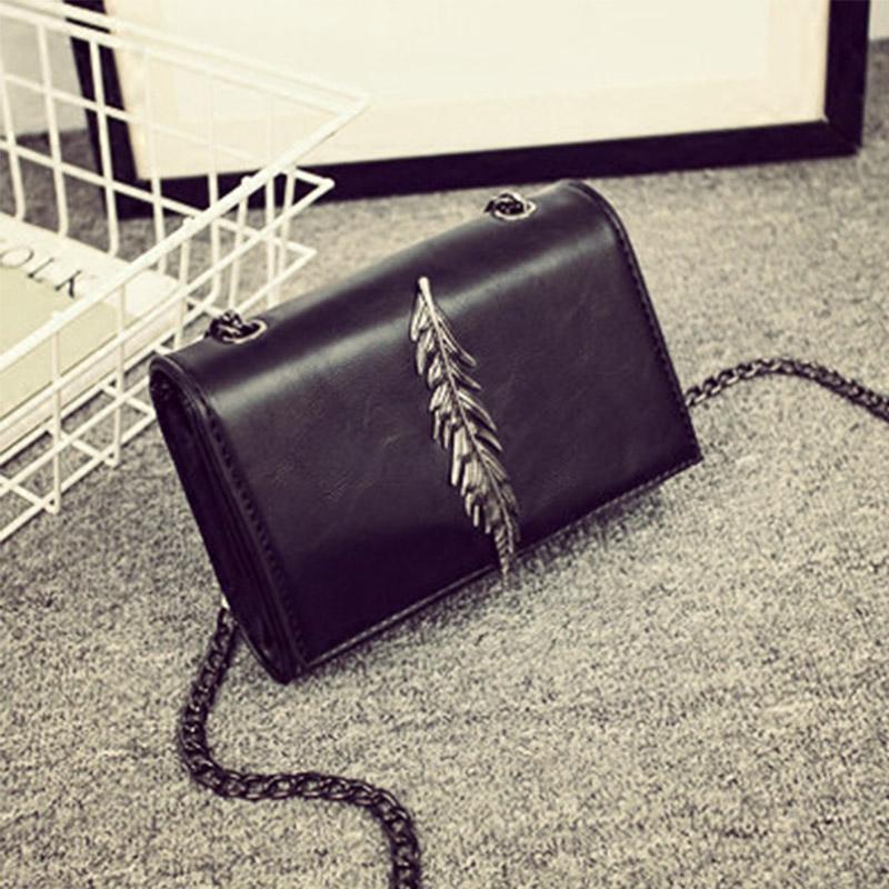 New arrival famous Designer girls handbags high quality PU Leather Crossbody Bag chain min bag(China (Mainland))