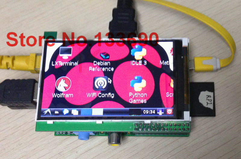 3.95 inch TFT display raspberry pi screen ,Suitable Raspberry Pi B+ ili9488 controller 320x480 resolution - Shenzhen new products store