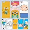 Adventure Time with Jake and Finn design transparent clear hard Case Cover for Xiaomi Mi 4