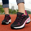 2016 New Women shoes Outdoor Brand Wedge Breathable Net cloth Climbing Casual Walking shoes Air damping