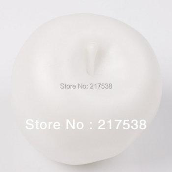 Hot Item 1pc/lot Apple Fruit Shaped LED Christmas Mood Night Light Lovely Plastic 7 Color Change Gift Light 58*58*51mm 670347