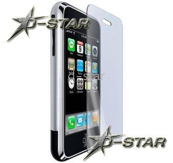 Free Shipping 100pcs CLEAR LCD SCREEN PROTECTOR COVER For iPhone 3G