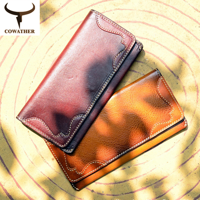 2015 long style Cow genuine leather men 100% top quality wallets for men,male letter purses,carteira masculina free shipping<br><br>Aliexpress