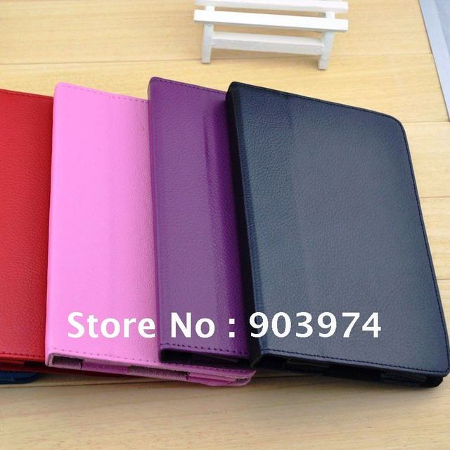 New Amazon Kindle Fire tablet/eReader PU Leather Case Folding Stand Cover Free Shipping