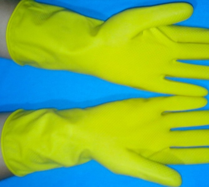 Gloves dishwashing gloves rubber gloves latex gloves rubber gloves work gloves women's gloves