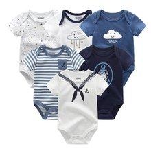 Niño recién nacido fotografía apoyos de fotografía de bebé ropa de algodón ropa de bebé monos bebe ropa de cuerpo para niños de 6 unids/lote nuevo 0-1Year(China)