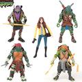 2016 New Toy 5 pieces lot Teenage Mutant Ninja Turtles PVC Action Figure TMNT Model Christmas