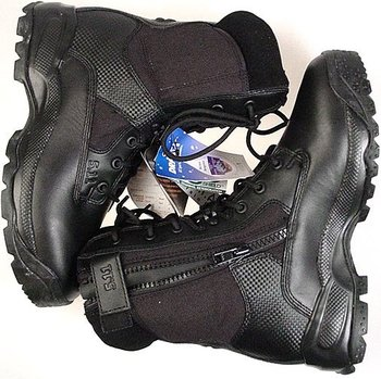 (ATAC) STORM SIDEZIP 8 inch WATERPROOF BOOTS (NEW) free shipping