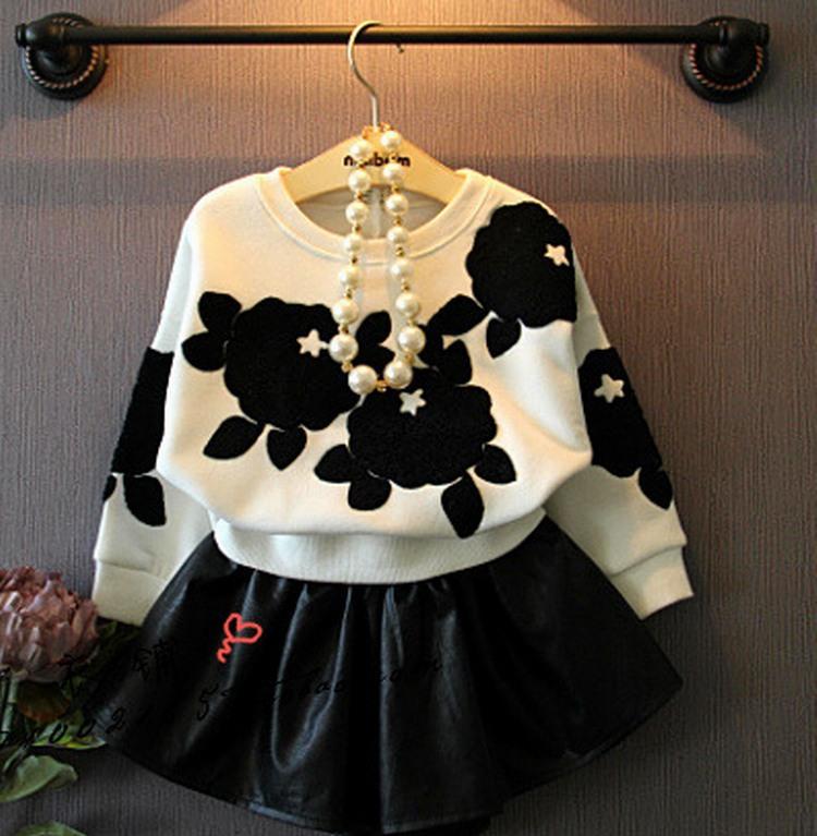 Осенняя юбка для девочки доставка