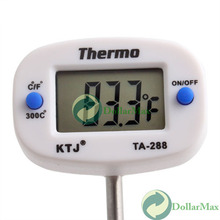 [High Quality] Digital Probe Meat Thermometer Kitchen Cooking BBQ #4 wholesale(China (Mainland))